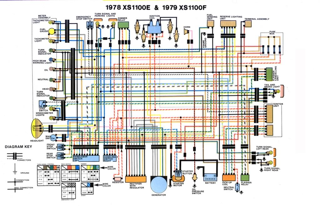 Yamaha XS1000 Wiring Diagram 1978 1979 find wiring diagram automotive wiring diagram color codes \u2022 free gs850g wiring diagram at n-0.co