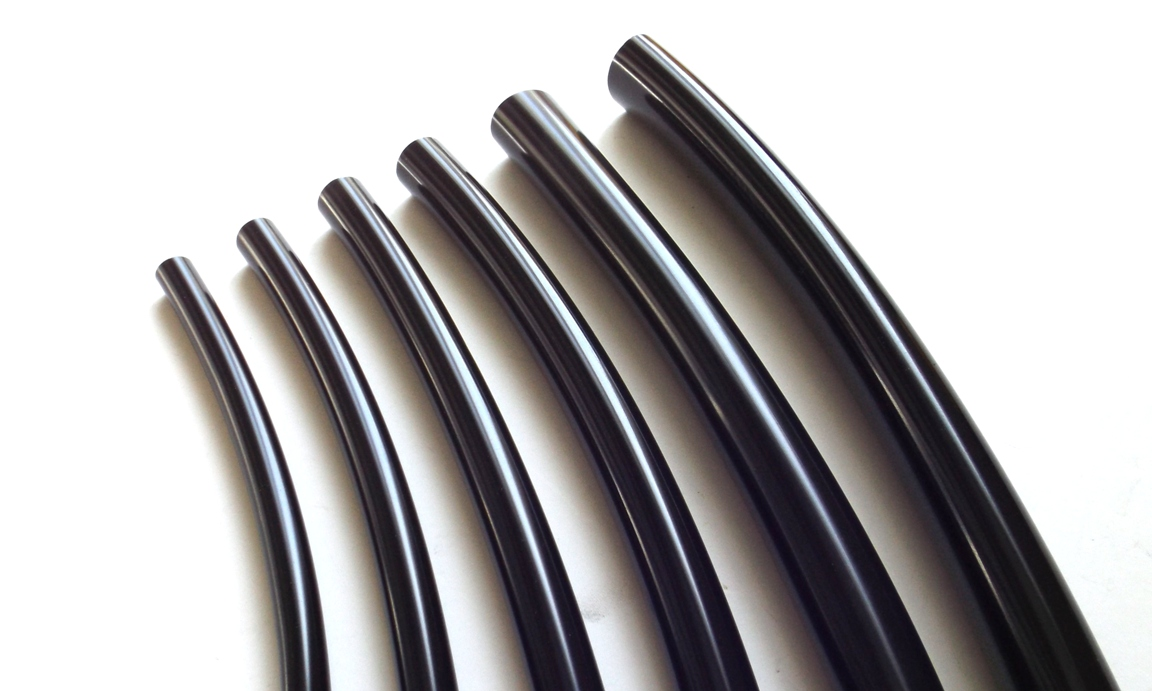 high gloss soft pvc wire engine harness tubing motorcycle harness sleeve, tubing, and loom black non-adhesive vinyl wiring harness tape at bayanpartner.co