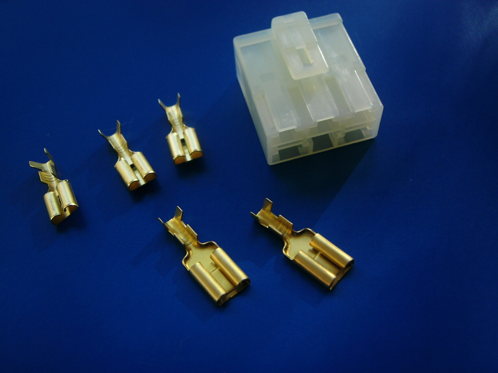 motorcycle voltage regulator connector motorcycle terminals, connectors, and wiring accessories  at highcare.asia